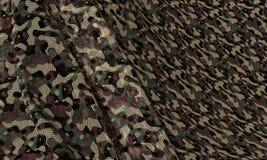 Текстура камуфлирования Стоковые Фотографии RF