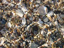 текстура камушка подводная Стоковое фото RF