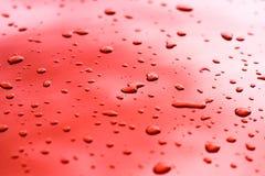Текстура капельки воды Стоковое фото RF