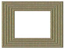 Текстура картинной рамки произведенная Стоковое Изображение