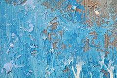 Текстура картины маслом близкая поднимающая вверх с ходами щетки Стоковые Изображения