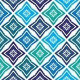 Текстура картины grunge вектора нарисованная вручную милая безшовная Стоковая Фотография