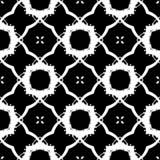 Текстура картины grunge вектора нарисованная вручную милая безшовная Стоковая Фотография RF