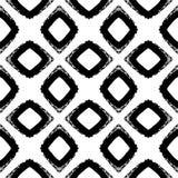Текстура картины grunge вектора нарисованная вручную милая безшовная Стоковые Изображения RF