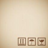 Текстура картона Стоковые Фотографии RF