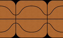 текстура карты баскетбола 3d Стоковая Фотография