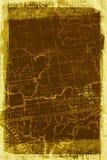 текстура карты grunge предпосылки Стоковые Фотографии RF