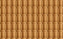 Текстура квадрата teak деревянного, обоев блока кирпича Стоковые Изображения