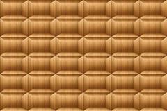 Текстура квадрата teak деревянного, обоев блока кирпича Стоковое Изображение