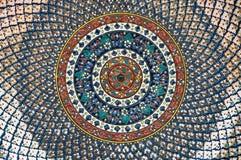 Текстура керамической тарелки Стоковое фото RF