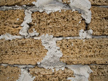 Текстура кирпича каменная используемая как предпосылка стоковое изображение