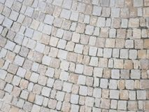 Текстура кирпича мостоваой земная стоковые изображения rf