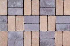 Текстура кирпичной стены других цветов для конструкции Смотреть на строительный материал стоковые фотографии rf
