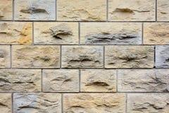 Текстура кирпичной стены песчаника Стоковые Фото
