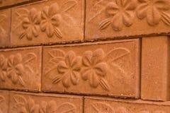 Текстура кирпичной стены Стоковые Изображения