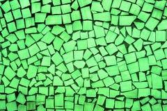 Текстура кисловочных зеленых декоративных плиток Стоковое Изображение