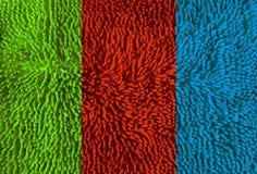 Текстура ковра microfiber цвета Стоковое Фото
