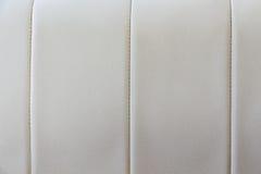 Текстура кожаной софы Стоковое фото RF