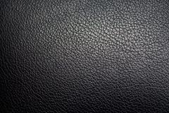 Текстура кожи автокресла Стоковая Фотография RF