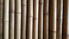 Текстура конца-вверх бамбуковая и бортовые тени с естественными предпосылками картин Стоковые Изображения RF
