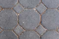 Текстура конца пола картины камня кирпича вверх стоковое фото