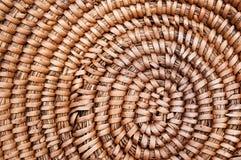текстура корзины деревянная Стоковое Фото