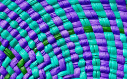 текстура корзины цветастая Стоковое Изображение