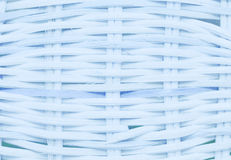 Текстура корзины Wickerwork голубая Стоковые Фото