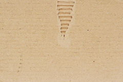 текстура коричневой бумаги предпосылки Стоковые Фото