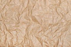Текстура коричневой бумаги Стоковое Фото