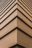 Текстура коричневой деревянной стены Стоковые Изображения RF