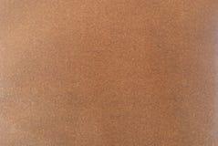 Текстура коричневой кожи шамуа Стоковые Изображения RF