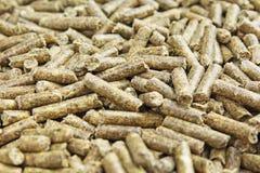 Текстура корма для животных любимчика кролика Травоядная еда от зеленых трав Стоковое Изображение RF