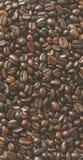 текстура кофе фасолей предпосылки польза кофе предпосылки готовая Конец-вверх предпосылки кофе Стоковые Изображения
