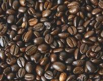 текстура кофе фасолей предпосылки польза кофе предпосылки готовая Конец-вверх предпосылки кофе Стоковое Фото
