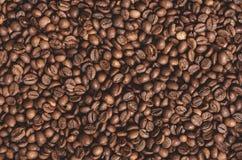 текстура кофе фасолей предпосылки стоковое фото rf