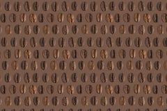 текстура кофе фасолей предпосылки Стоковое Изображение