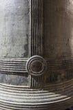 Текстура колокола металла старого, тайский восточный образ жизни Стоковые Фото