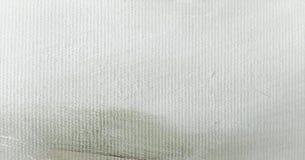 Текстура краски абстрактного масла белая на холсте, белой предпосылке краски Стоковые Фото