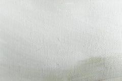 Текстура краски абстрактного масла белая на холсте, белой предпосылке краски Стоковые Изображения RF