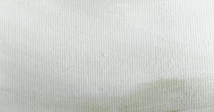 Текстура краски абстрактного масла белая на холсте, белой предпосылке краски Стоковое Фото