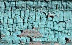 Текстура краски бирюзы Стоковая Фотография