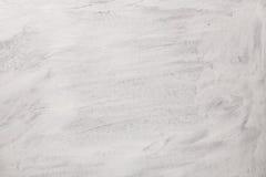 Текстура краски на белой предпосылке Гуашь на нашивках холста Стоковая Фотография