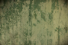 Текстура краски цвета шелушась и треская текстура покрашенная зеленым цветом ржавая Стоковые Изображения RF