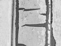 Текстура краски шелушения Черно-белая текстура предпосылки Стоковое Изображение