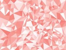 Текстура красного конспекта геометрическая полигональная треугольники также вектор иллюстрации притяжки corel Справочная информац иллюстрация вектора