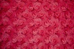 Текстура красного меха Стоковое Изображение