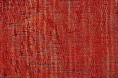 текстура красного цвета холстины Стоковые Изображения