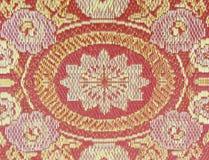 Текстура красной циновки Стоковое Фото