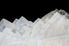 текстура кристаллов соли Стоковое Фото